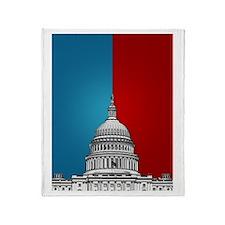 American Politics Throw Blanket