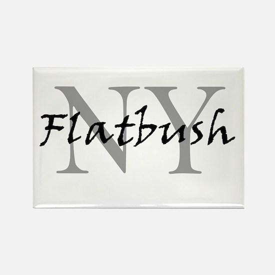 Flatbush Rectangle Magnet