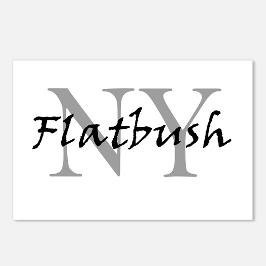 Flatbush Postcards (Package of 8)