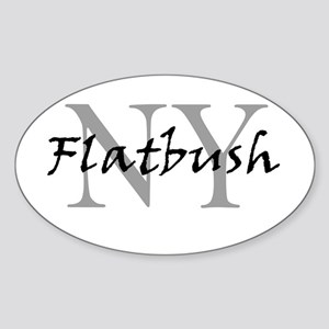 Flatbush Oval Sticker