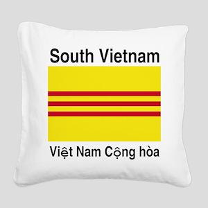 South-Vietnam-Light Square Canvas Pillow