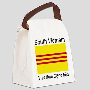 South-Vietnam-Light Canvas Lunch Bag