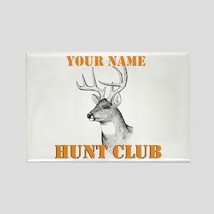 Custom Hunt Club Rectangle Magnet