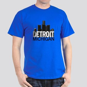 Detroit Skyline Dark T-Shirt