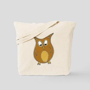 Pretty Owl Tote Bag
