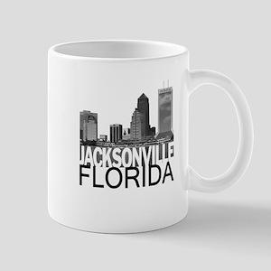 Jacksonville Skyline Mug