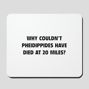 Pheidippides Miles Mousepad