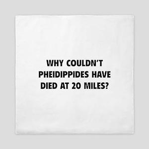 Pheidippides Miles Queen Duvet
