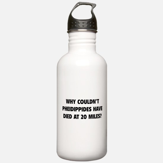 Pheidippides Miles Water Bottle