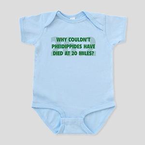 Pheidippides Miles Infant Bodysuit