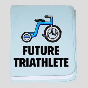 Future Triathlete baby blanket