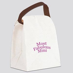 Most Fabulous Mimi Canvas Lunch Bag
