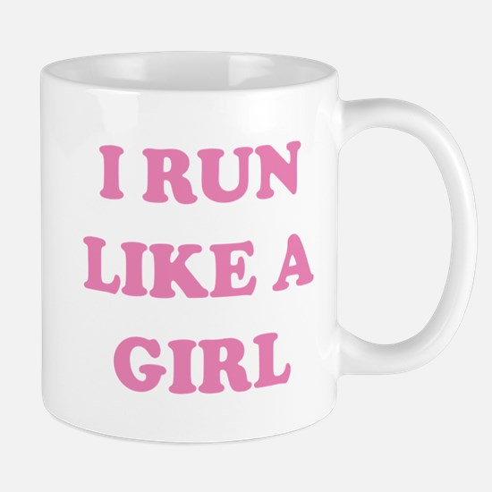 I Run Like A Girl Mug
