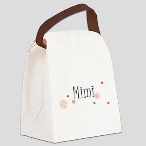 Mimi Retro Canvas Lunch Bag