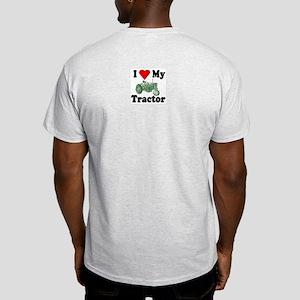 I Love My Tractor Ash Grey T-Shirt