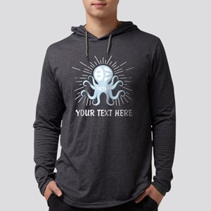 Theta Xi Octopus Mens Hooded Shirt
