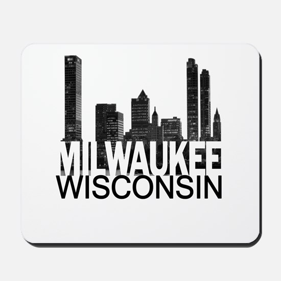 Milwaukee Skyline Mousepad
