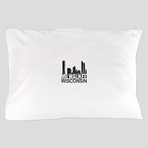 Milwaukee Skyline Pillow Case