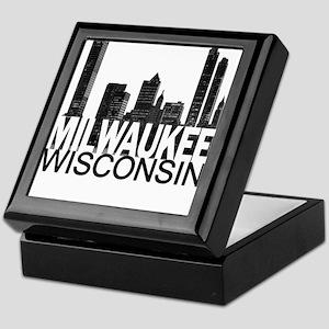 Milwaukee Skyline Keepsake Box