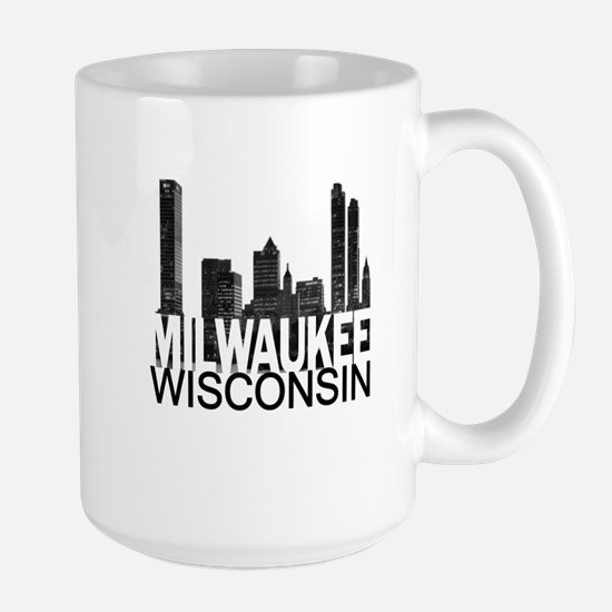 Milwaukee Skyline Large Mug