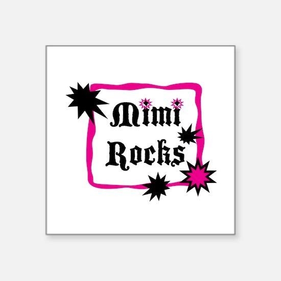 """Mimi Rocks Square Sticker 3"""" x 3"""""""