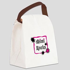 Mimi Rocks Canvas Lunch Bag