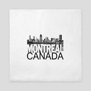Montreal Skyline Queen Duvet