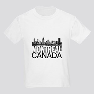 Montreal Skyline Kids Light T-Shirt