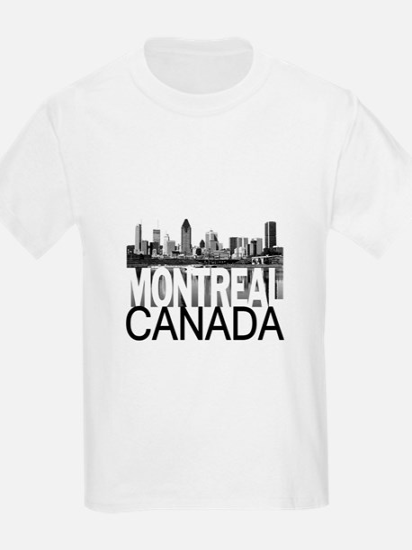 Montreal Skyline T-Shirt