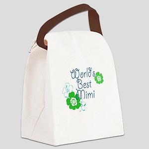 Worlds Best Mimi Canvas Lunch Bag