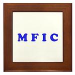 M F I C Merchandise Framed Tile