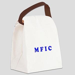 M F I C Merchandise Canvas Lunch Bag