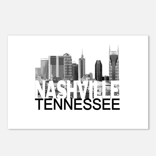 Nashville Skyline Postcards (Package of 8)