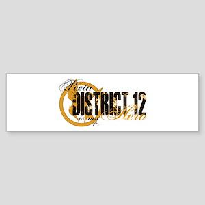 Peeta Hero D12 Sticker (Bumper)