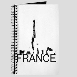 Paris Skyline Journal