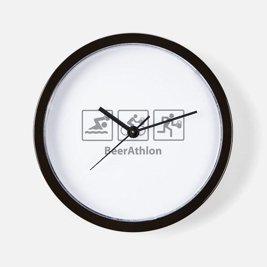 BeerAthlon Wall Clock