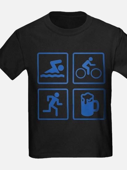 Swim Bike Run Drink T