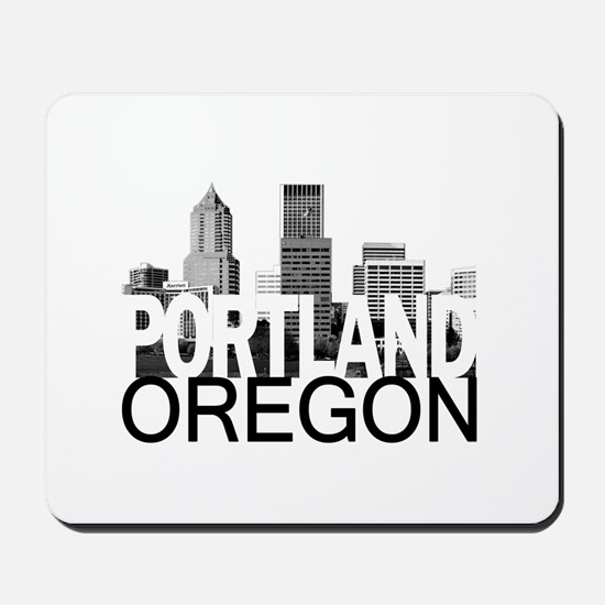 Portland Skyline Mousepad
