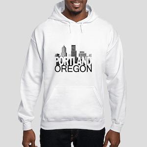 Portland Skyline Hooded Sweatshirt