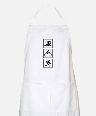 Triathlon Swim Bike Run Apron