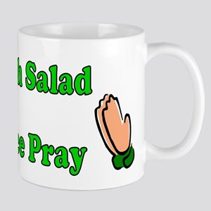 Church Salad, Lettuce Pray Mug