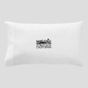 San Francisco Skyline Pillow Case