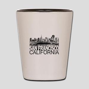 San Francisco Skyline Shot Glass