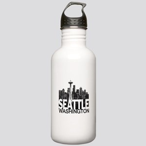 Seattle Skyline Stainless Water Bottle 1.0L