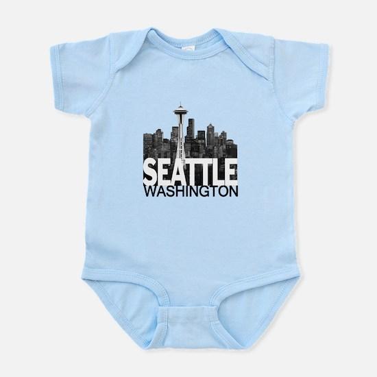 Seattle Skyline Infant Bodysuit
