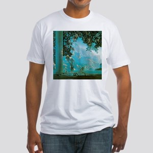 Maxfield Parrish Daybreak Fitted T-Shirt