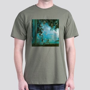 Maxfield Parrish Daybreak Dark T-Shirt