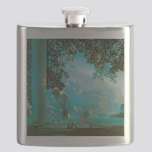 Maxfield Parrish Daybreak Flask
