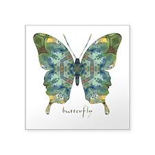 Abundance Butterfly Square Sticker 3