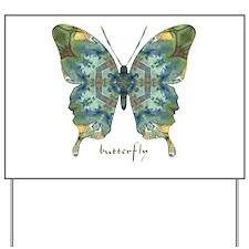 Abundance Butterfly Yard Sign